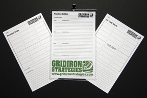 Gridiron Strategies Coach's Holster Extra Sheets