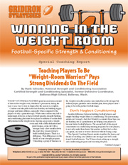 Winning In The Weight Room: Football-Specific Stre