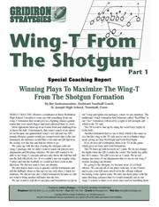 Wing-T From The Shotgun: Part 1