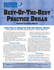 Best-Of-The-Best Practice Drills