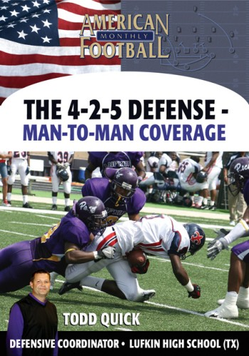 The 4-2-5 Defense - Man-to-Man Coverages