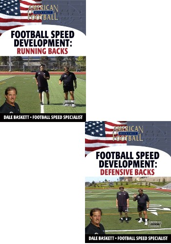 Football Speed Development: 2 DVD Set, Running Backs & Defensive Backs