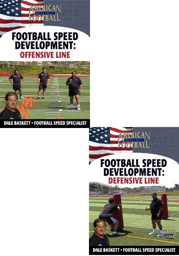 Football Speed Development: 2 DVD Set, Offensive Line & Defensive Line