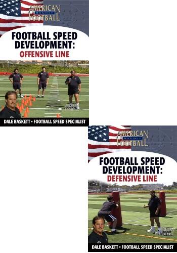 Football Speed Development: 2 DVD Set, Offensive Line & Defensive Line