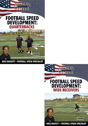 Football Speed Development: 2 DVD Set - Quarterbacks and Wide Receivers