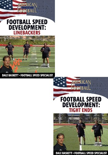 Football Speed Development: 2 DVD Set, - Tight Ends and Linebackers
