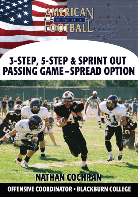 3-Step, 5-Step and Sprint Out Passing Game-The Spread Option