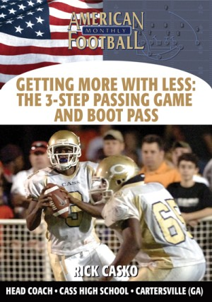 Getting More With Less: The 3-Step Passing Game and Boot Pass