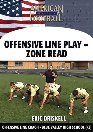 Inside Zone Read - O-Line Play for the Pistol & Off-Set Gun