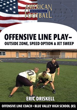 Outside Zone, Speed Option & Jet Sweep - O-Line Play for the Pistol & Offset Gun