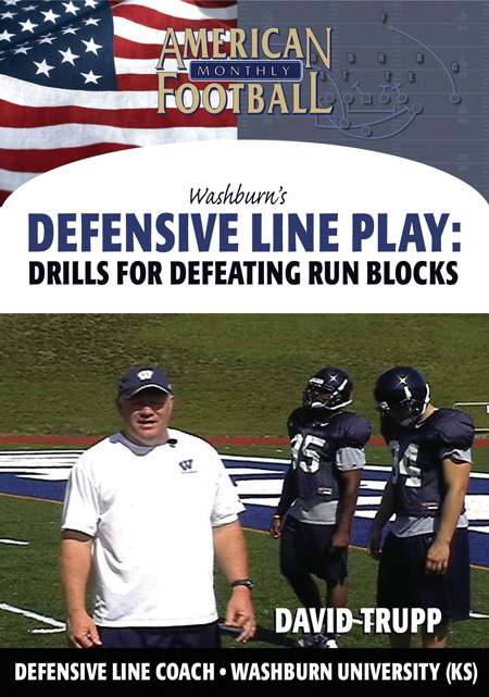Washburn's Defensive Line Play - Drills for Defeating Run Blocks