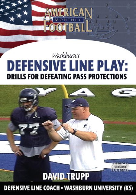 Washburn's Defensive Line Play - Drills for Defeating Pass Protections