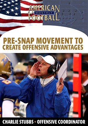 Pre Snap Movement To Create Offensive Advantages