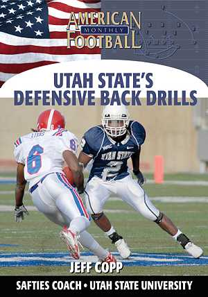 Utah State's Defensive Back Drills