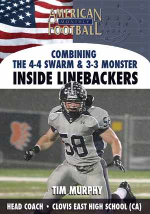 Combining the 4-4 Swarm & 3-3 Monster -  Inside Linebackers