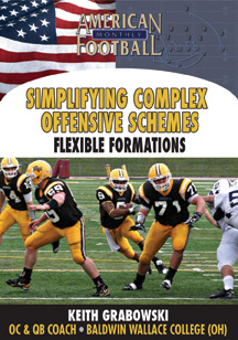 Simplifying Complex Offensive Schemes - Flexible Formations