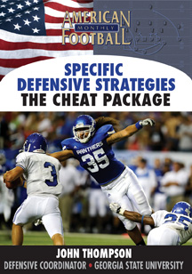 Specific Defensive Strategies – The 'Cheat' Package – The Cover 2 Zone Blitz
