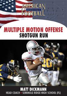 Multiple Motion Offense - The Shotgun Run Game