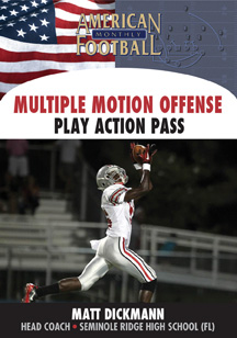 Multiple Motion Offense - The Play-Action Passing Game