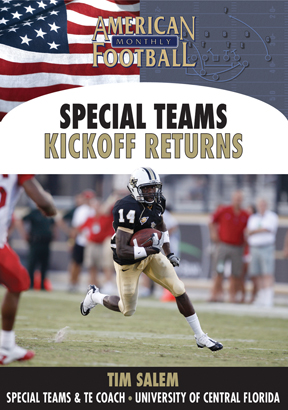 Tim Salem Special Teams  - Kickoff Returns