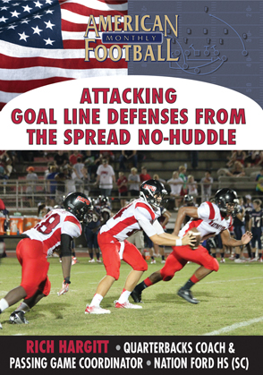 Attacking Goal Line Defenses From the Spread, No-Huddle Offense.