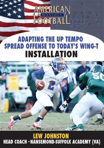 Adapting the Up-Tempo Spread Offense To Today's Wing-T - Installation