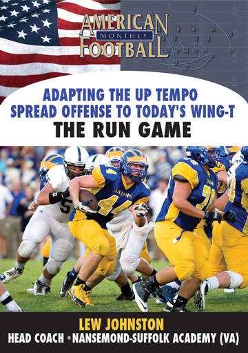 Adapting the Up-Tempo Spread Offense To Today's Wing-T -The Run Game 2 Disc Set