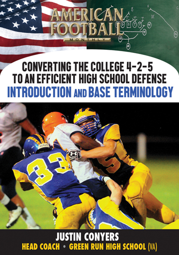 Converting the College 4-2-5 to an Efficient High School Defense - Introduction and Base Terminology