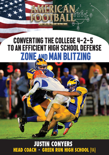 Converting the College 4-2-5 to an Efficient High School Defense - Zone and Man Blitzing