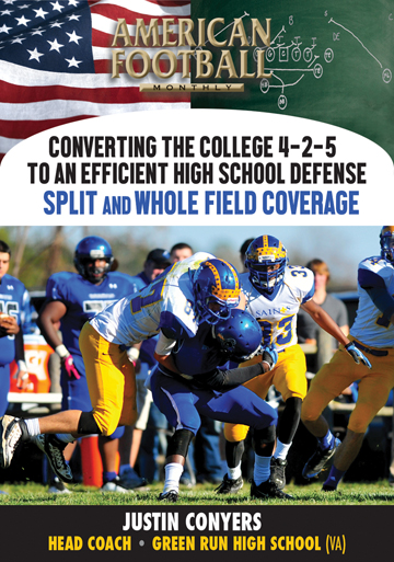 Converting the College 4-2-5 to an Efficient High School Defense - Split and Whole Field Coverage
